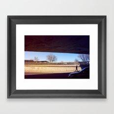 Random walk Framed Art Print