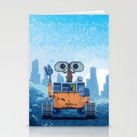 wall e Stationery Cards featuring Wall-e by LAckas