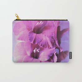 Gladioli Pink Carry-All Pouch