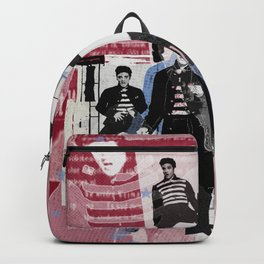 Jail House rock collage Backpack