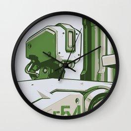 Bastion HOPE Propaganda Wall Clock