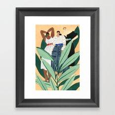 Carolina Herrera Resort Framed Art Print