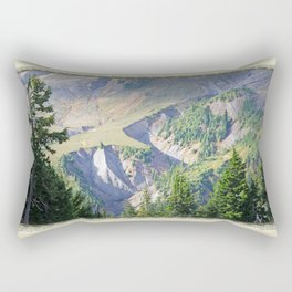 SWIFT CREEK HEADWATERS BELOW TABLE MOUNTAIN Rectangular Pillow