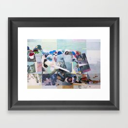 Man Down Framed Art Print