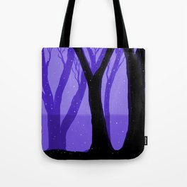 Magical Forest in Purple Tote Bag