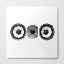 Speaker Metal Print