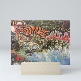 Rumble by the River Mini Art Print