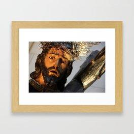 J C Framed Art Print