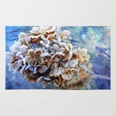 Frozen Poetry Rug