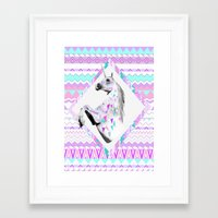 kris tate Framed Art Prints featuring TWIN SHADOW by Vasare Nar and Kris Tate by Vasare Nar