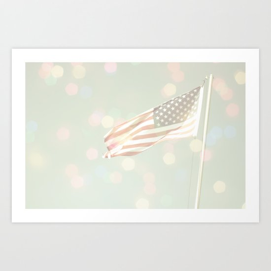 American dreams Art Print