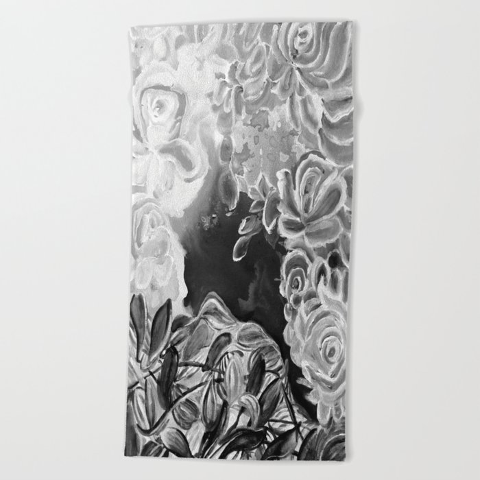 Ode to Creation Heavenly and Night Beach Towel