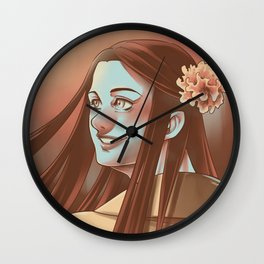 In the Flesh - Amy Dyer Wall Clock