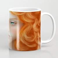 rebel Mugs featuring Rebel by Alexia Rose