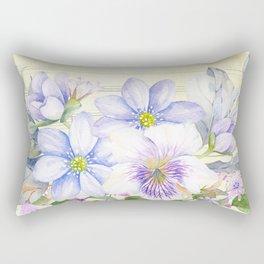 Flowers bouquet 69 Rectangular Pillow