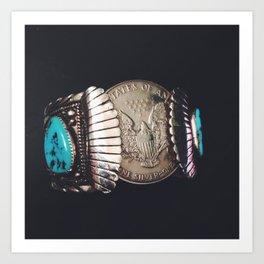 Native American Cuff Art Print