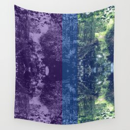 Born on the Bayou Colorblock Wall Tapestry