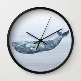 Deep Sea Whale Wall Clock