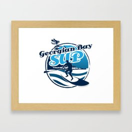 Georgian Bay SUP Framed Art Print