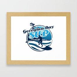 Georgian Bay SUP Framed Art Print