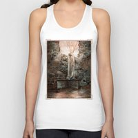 bible verses Tank Tops featuring The Dying Verses 3 by Helheimen Design