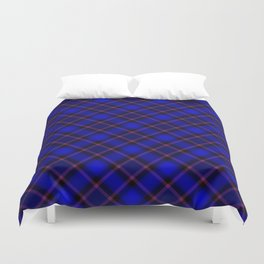 Scottish Fabric Blue Duvet Cover