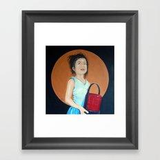 Positive Princess Framed Art Print