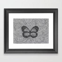 BUTTERFLY3.1 Framed Art Print