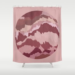 TOPOGRAPHY 007 Shower Curtain