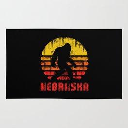 Bigfoot Nebraska State Rug