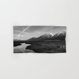 Black and White Nevada Hand & Bath Towel