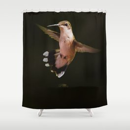 My Hummer Friend V Shower Curtain