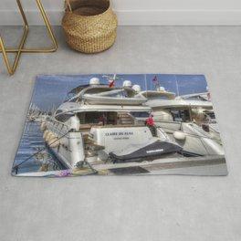 Sunseeker 78 Yacht Rug