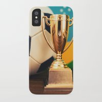 world cup iPhone & iPod Cases featuring world cup trophy by franckreporter