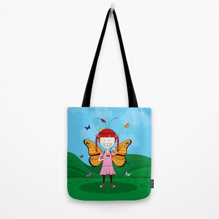 i heart butterflies Tote Bag