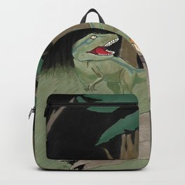 Raptor Trouble Colorized Backpack