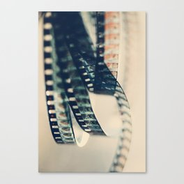 super 8 film Canvas Print