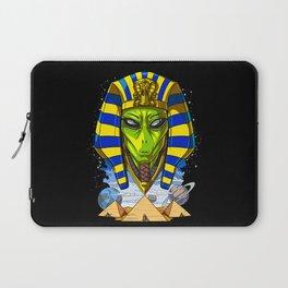 Alien Egyptian Pharaoh Tutankhamun Ancient Conspiracy Laptop Sleeve