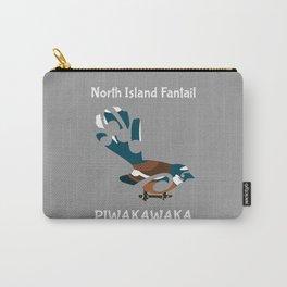 Piwakawaka | Fantail | New Zealand bird Carry-All Pouch