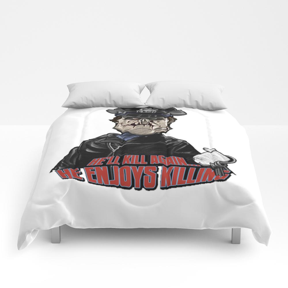 He Enjoys Killing! Comforter by Monarchy70612 CMF7566776