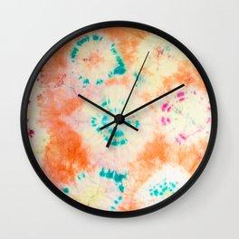 malibu sunrise Wall Clock