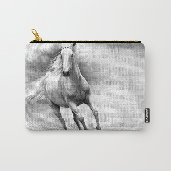 Horse GRAPHITE DRAWING II. Carry-All Pouch