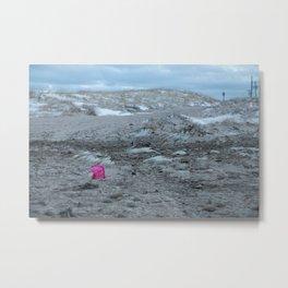 Pink Pail Metal Print