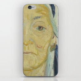 An Old Woman of Arles iPhone Skin