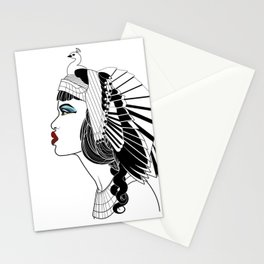 Queen of The Nile. Stationery Cards