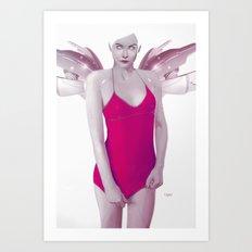 Pinkx Art Print