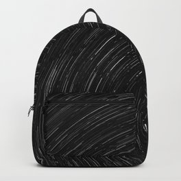 Circles (Black and White) Backpack