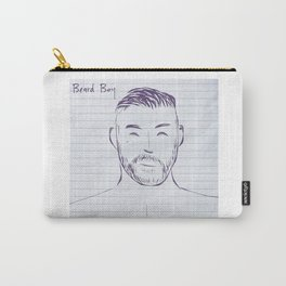 Beard Boy Scruff 1 Carry-All Pouch