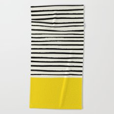 Sunshine x Stripes Beach Towel