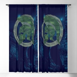 TROJAN HERO Blackout Curtain